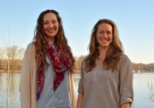 Kristiana Teige Witherill, Carrie Sanneman, Clean Water Program Staff, Willamette Partnership